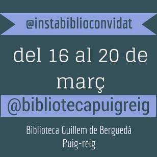 @bibliotecapuigreig a l'Instabiblioconvidat