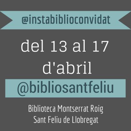 @bibliosantfeliu a l'Instabilioconvidat